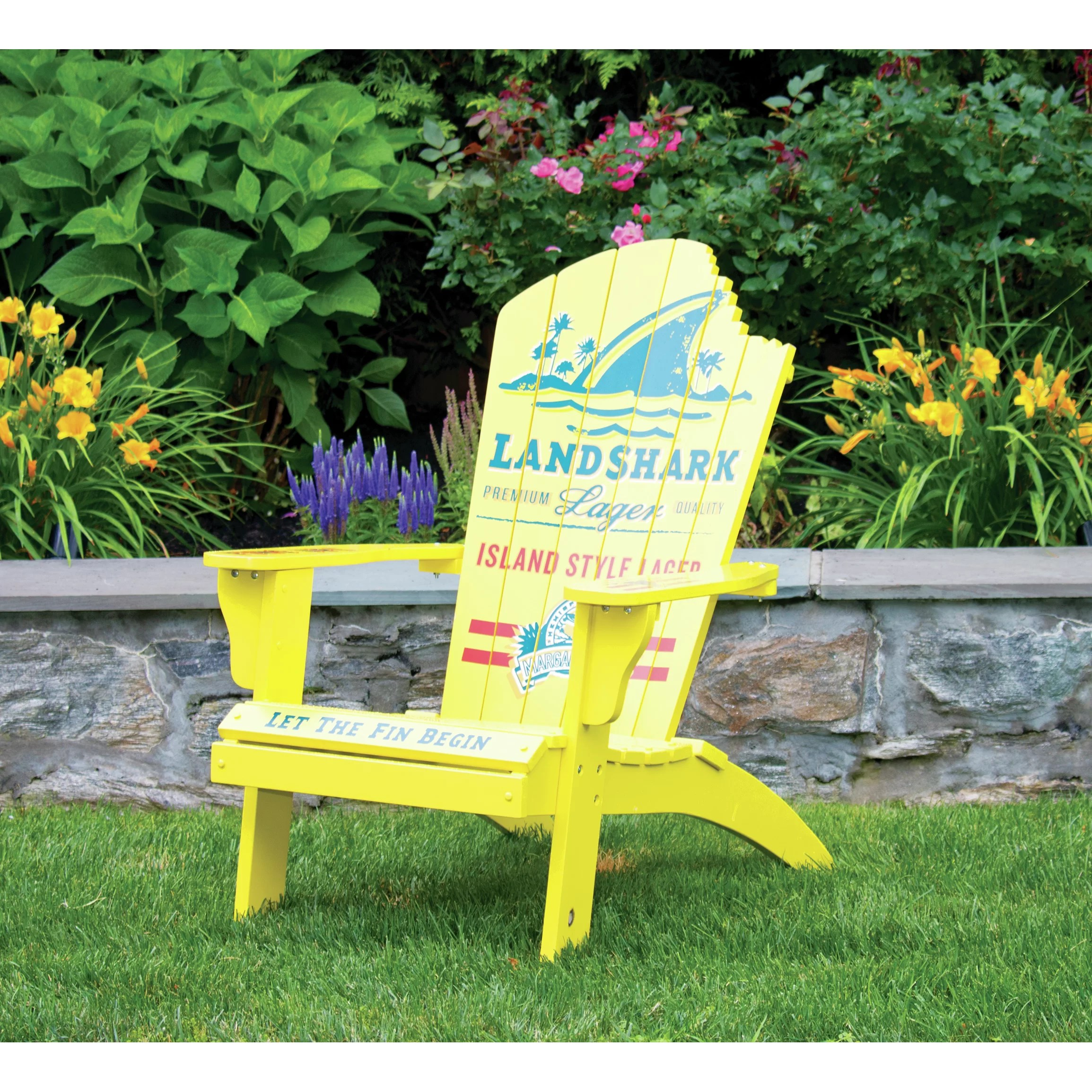 margaritaville chairs for sale elmo chair walmart quotlandshark quot adirondack and reviews