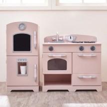 Teamson Kids 2 Piece Wooden Play Kitchen Set &