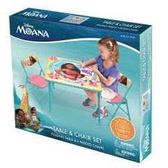 Safety 1st 5 Piece Childrens Table And Chair Set Design By Le Corbusier Kids Only Moana 3 Square