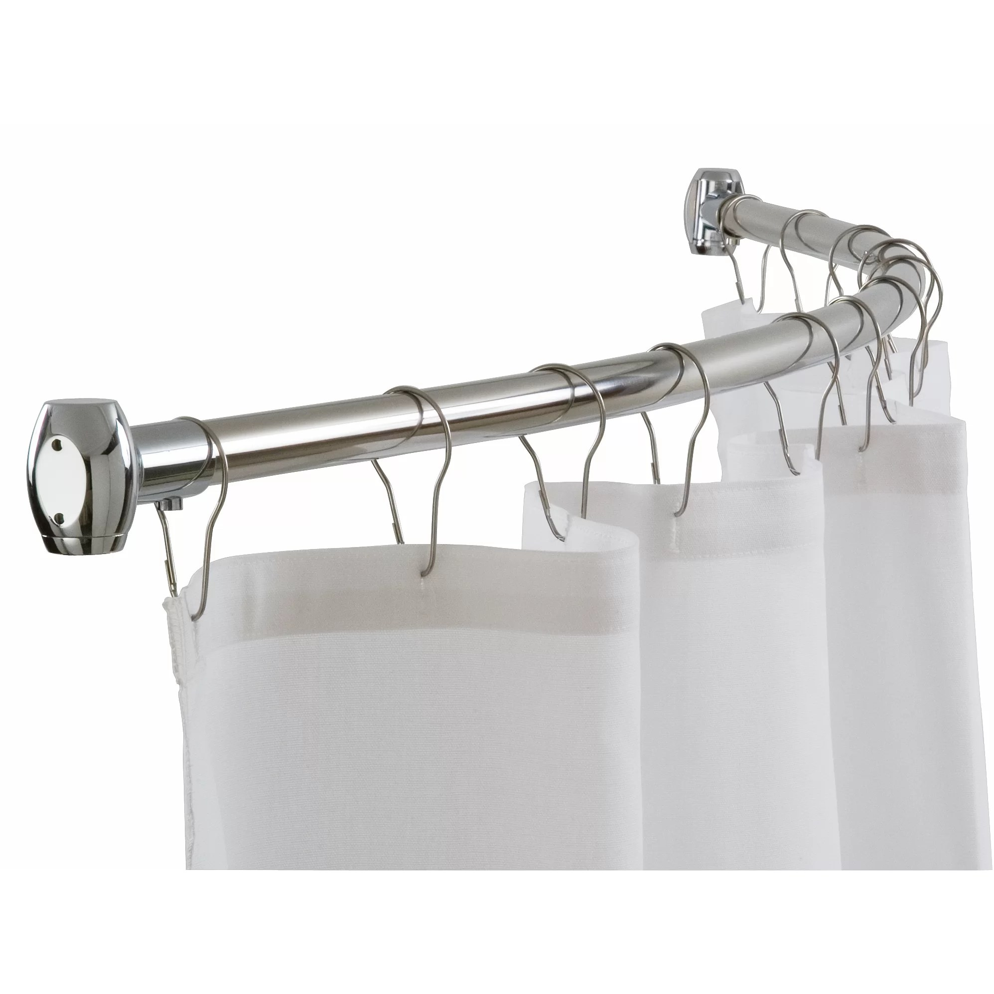 Shower Curtain Rods You'll Love Wayfair