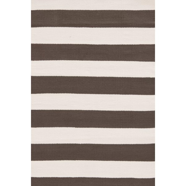 Dash And Albert Rugs Indoor Outdoor Hand Woven Brown White