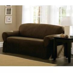 3 Cushion Sofa Slipcover Ricardo Leather Reclining Sectional Maytex T-cushion Loveseat/sofa & Reviews ...