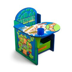 Ninja Turtles Chair Yellow Fabric Accent Delta Children Desk And Reviews Wayfair