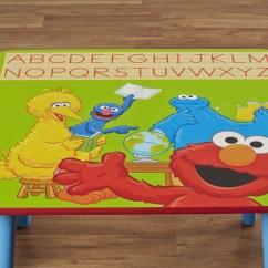Sesame Street Table And Chairs Salon Dryer Chair Delta Children Kids 39 3 Piece