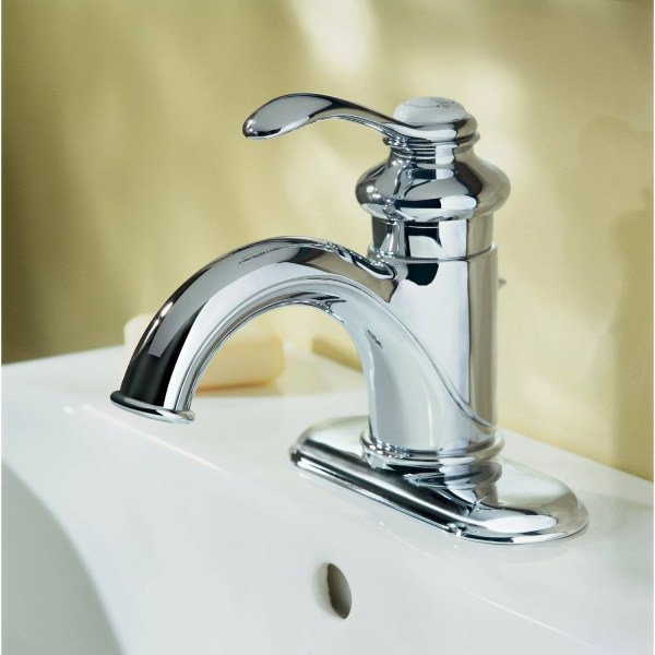 Kohler Fairfax Centerset Bathroom Sink Faucet With Single