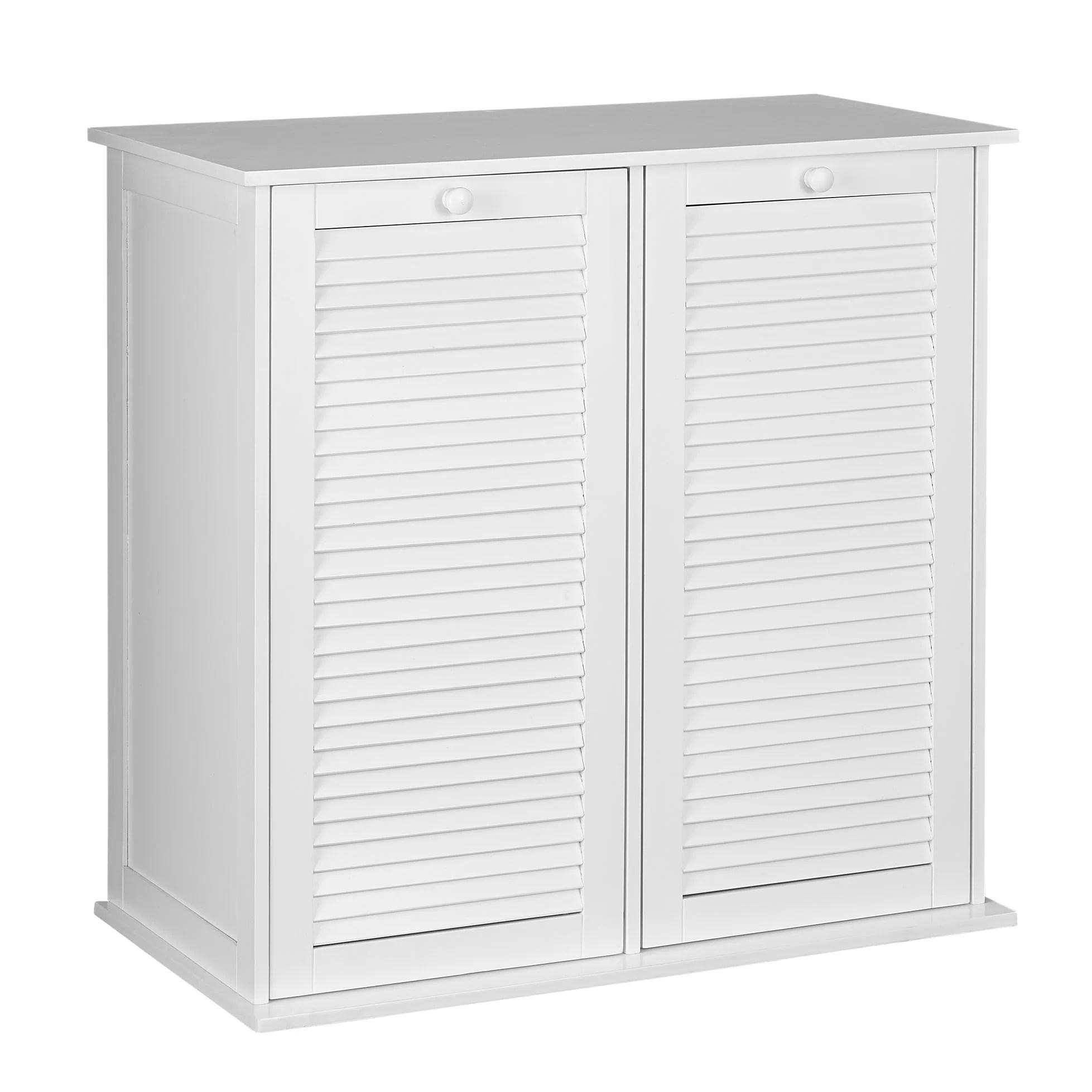 Household Essentials Cabinet Laundry Hamper  Reviews  Wayfair