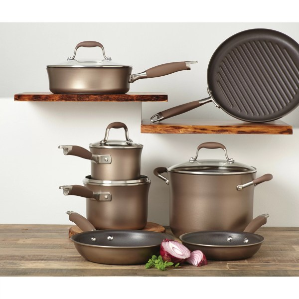 Anolon Advanced Nonstick 11 Piece Cookware Set &