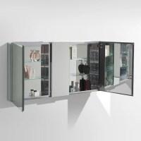"Fresca 50"" x 26"" Medicine Cabinet & Reviews | Wayfair"