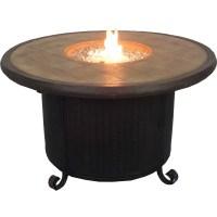 AZ Patio Heaters Faux Stone Propane Fire Pit Table ...