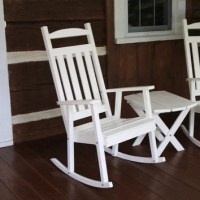 A&L Furniture Classic Porch Rocking Chair & Reviews