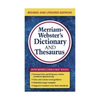 Merriam Websters Dictionary and Thesaurus Book | Wayfair