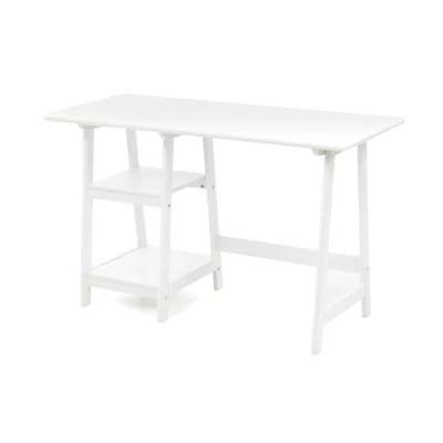 Wildon Home ® Buckingham Writing Desk with 2 Shelves