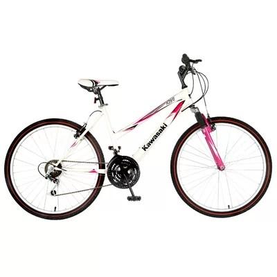 Kawasaki KX26G Ladies Hardtail 18-Speed Mountain Bike