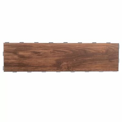 "Interceramic Colonial Wood 6"" x 20"" Ceramic Wood Tile in"