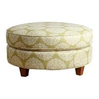 Abbyson Living Fabric Round Ottoman & Reviews | Wayfair