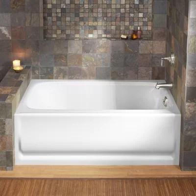 Sterling By Kohler Ensemble 60 Soaking Bathtub Amp Reviews Wayfair