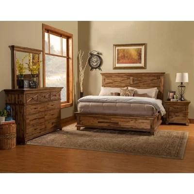 Alpine Furniture St James Panel Customizable Bedroom Set  Reviews  Wayfair