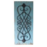 Woodland Imports 3 Piece Stunning Wood Panel Wall Dcor ...