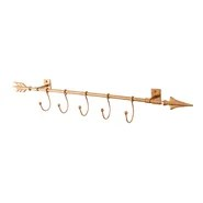 Worley Wall Mount Arrow with Hooks