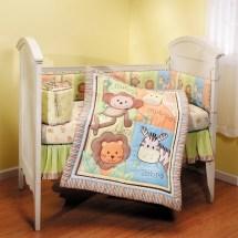 Summer Infant Monkey Jungle 4 Piece Crib Bedding Set