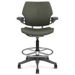 Adjustable Drafting Chair Custom Mats Humanscale Freedom Height With