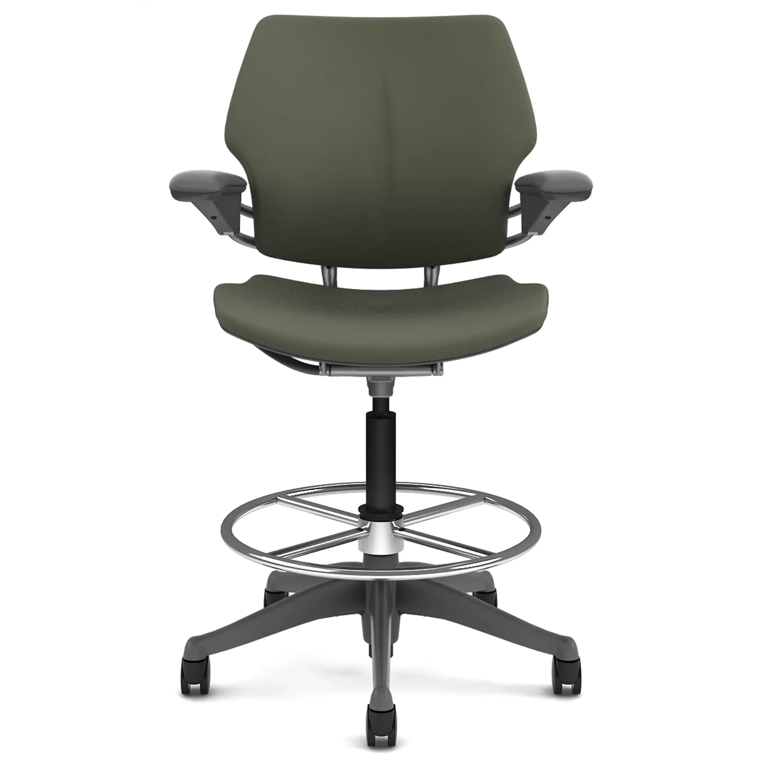Drafting Chairs Humanscale Freedom Height Adjustable Drafting Chair With