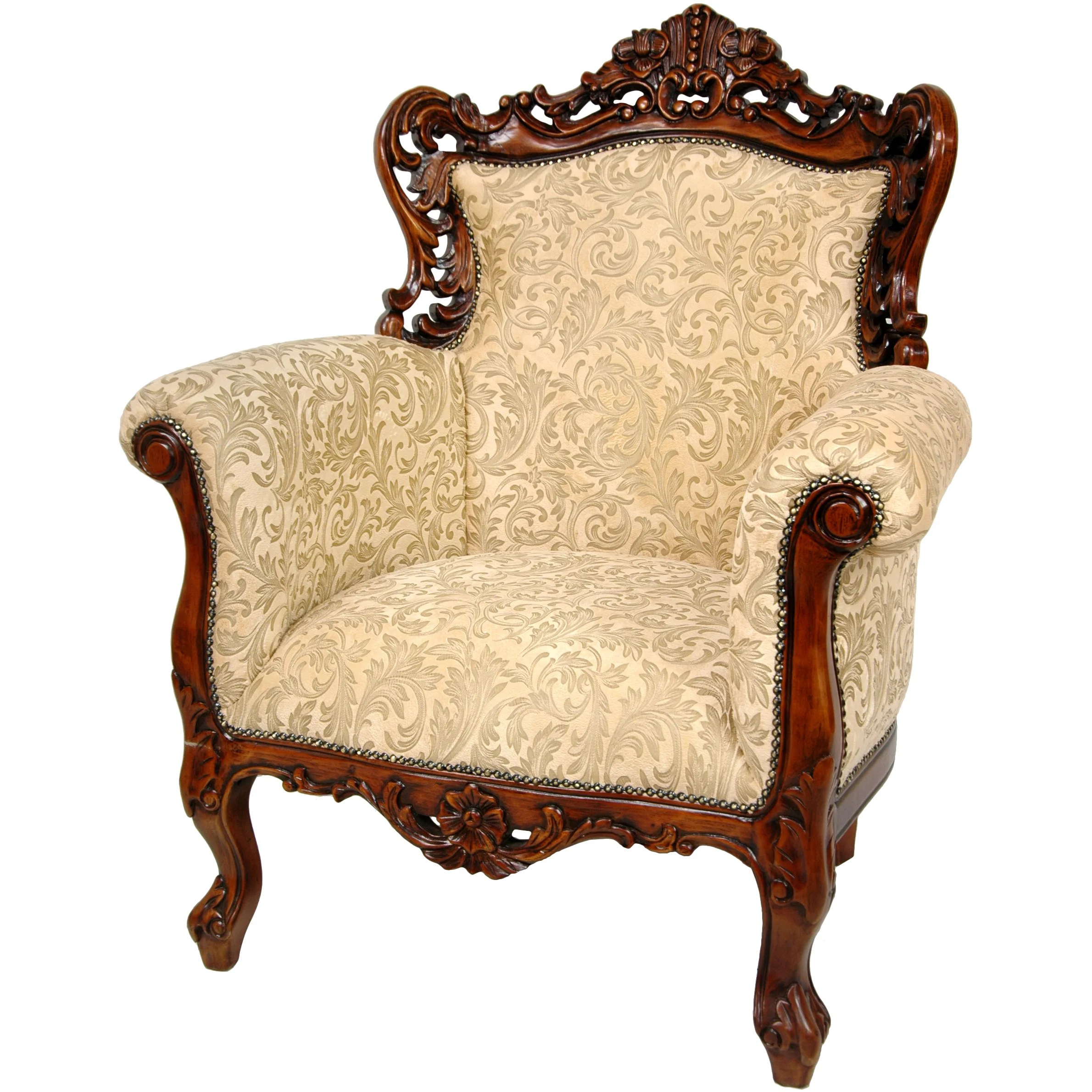 Queen Chairs Queen Victoria Wing Chair Wayfair