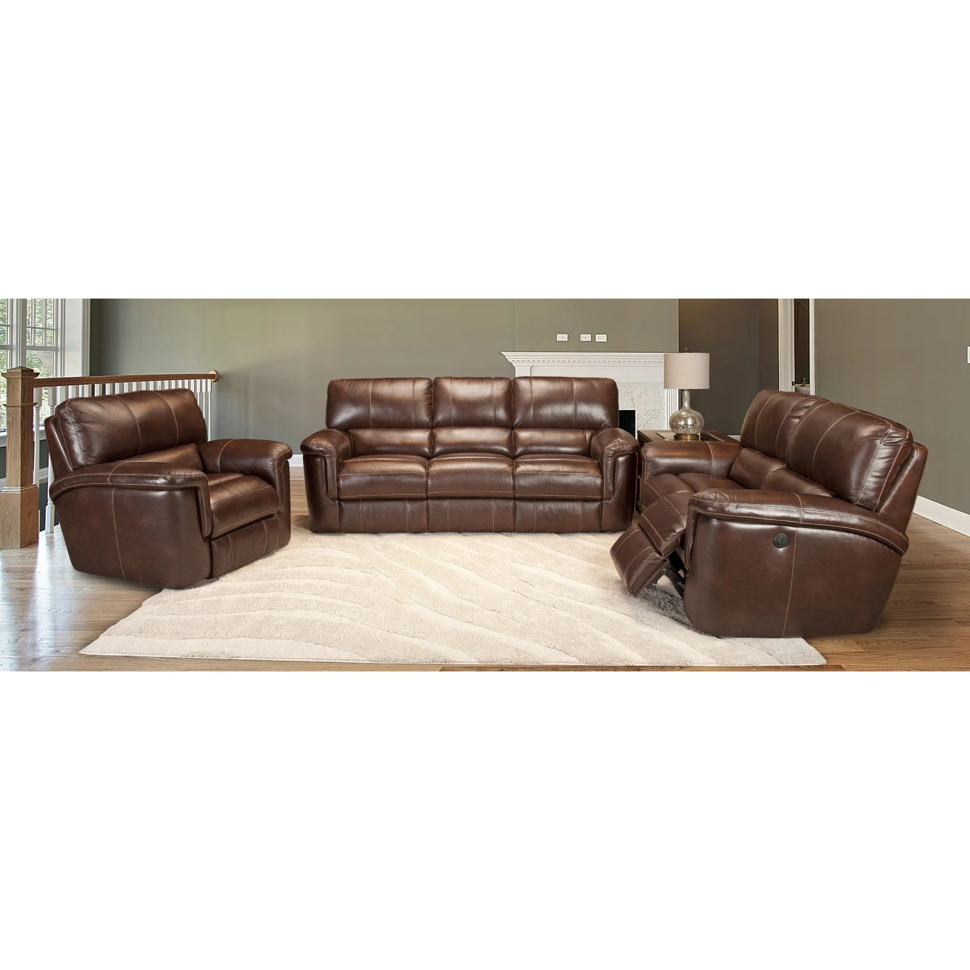 parker leather sofa reviews funda chaise longue el corte ingles house hitchcock dual power reclining