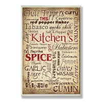 August Grove Kitchen and Spice Textual Art Plaque