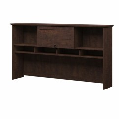 Office Chair Mat 36 X 60 Baby Alive High Set Bush Industries Buena Vista Quot Desk Hutch And Reviews