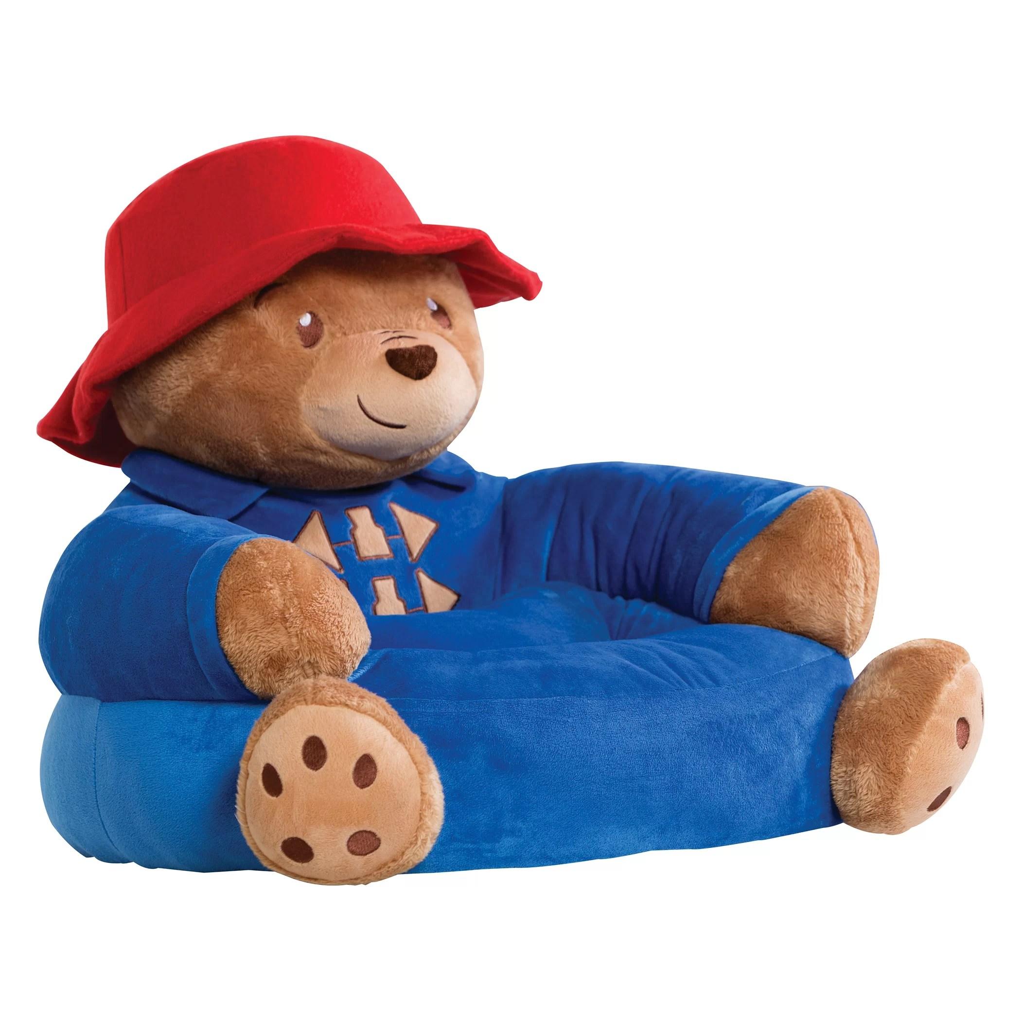 kids character chairs chair cover elegance omaha trend lab paddington bear children 39s plush