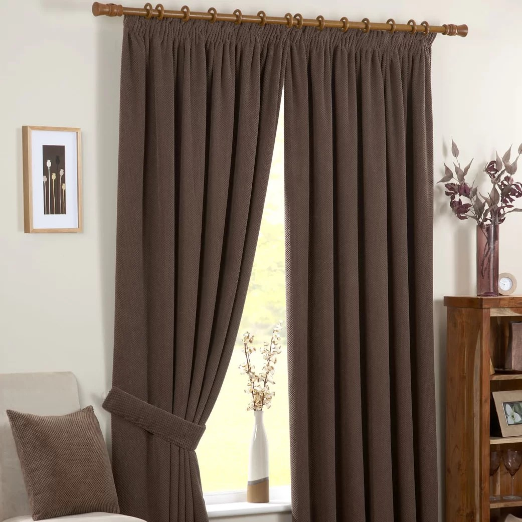 Dreams N Drapes Chenille Curtain Panel  Reviews  Wayfair UK