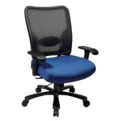 Tall Desk Chairs With Backs Wooden Dolls High Chair Toys R Us Office Star Space Seating Back Double Airgrid Big And
