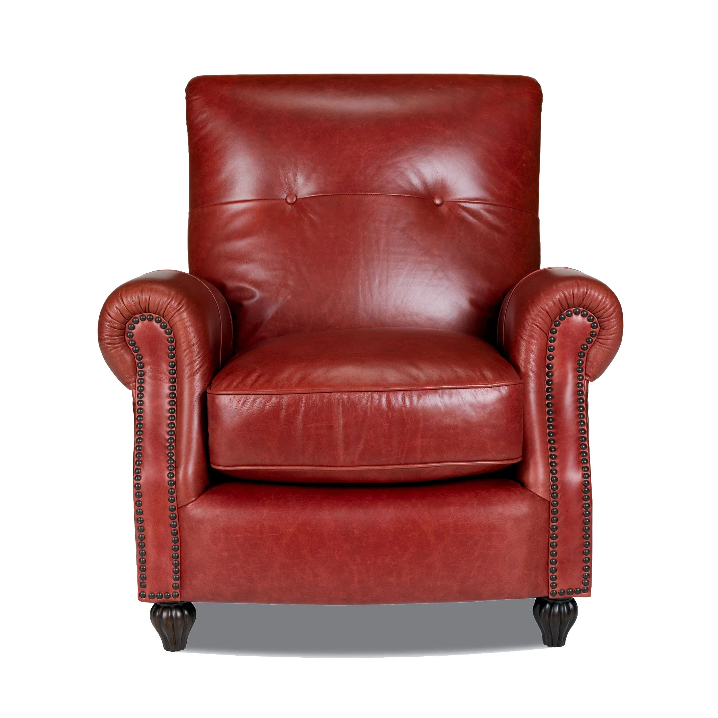 press back chair slipper means opulence home benjamin leather arm