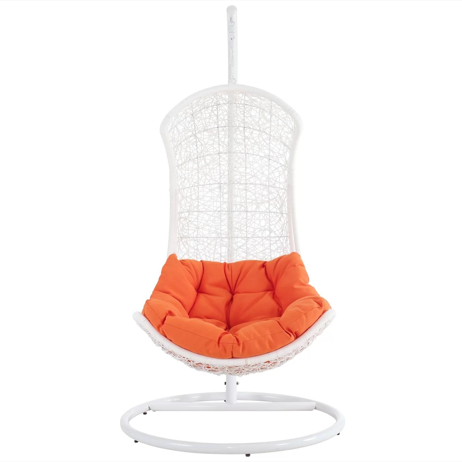 swing chair wayfair rohe barcelona endow with stand