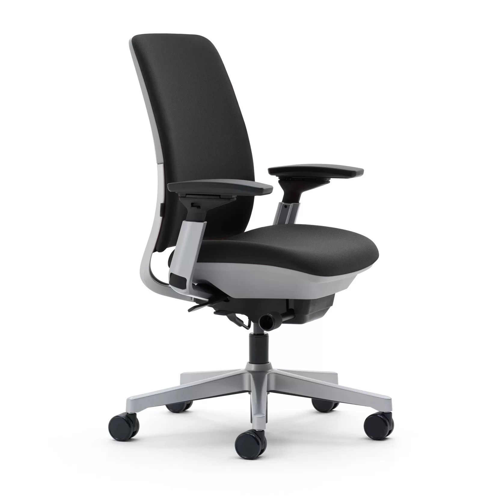 Work Chair Steelcase Amia Mid Back Upholstered Work Chair And Reviews