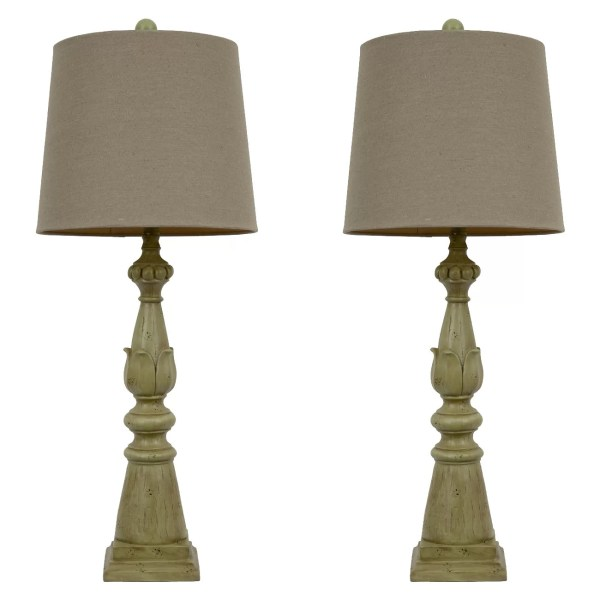 """Decor Therapy 30.5"""" Table Lamp With Empire Shade"""