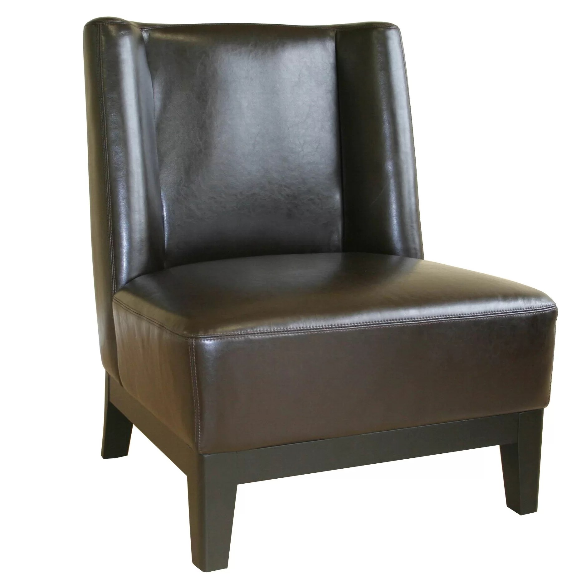 cheap leather chairs twin sleeper chair canada wholesale interiors cloten and reviews wayfair