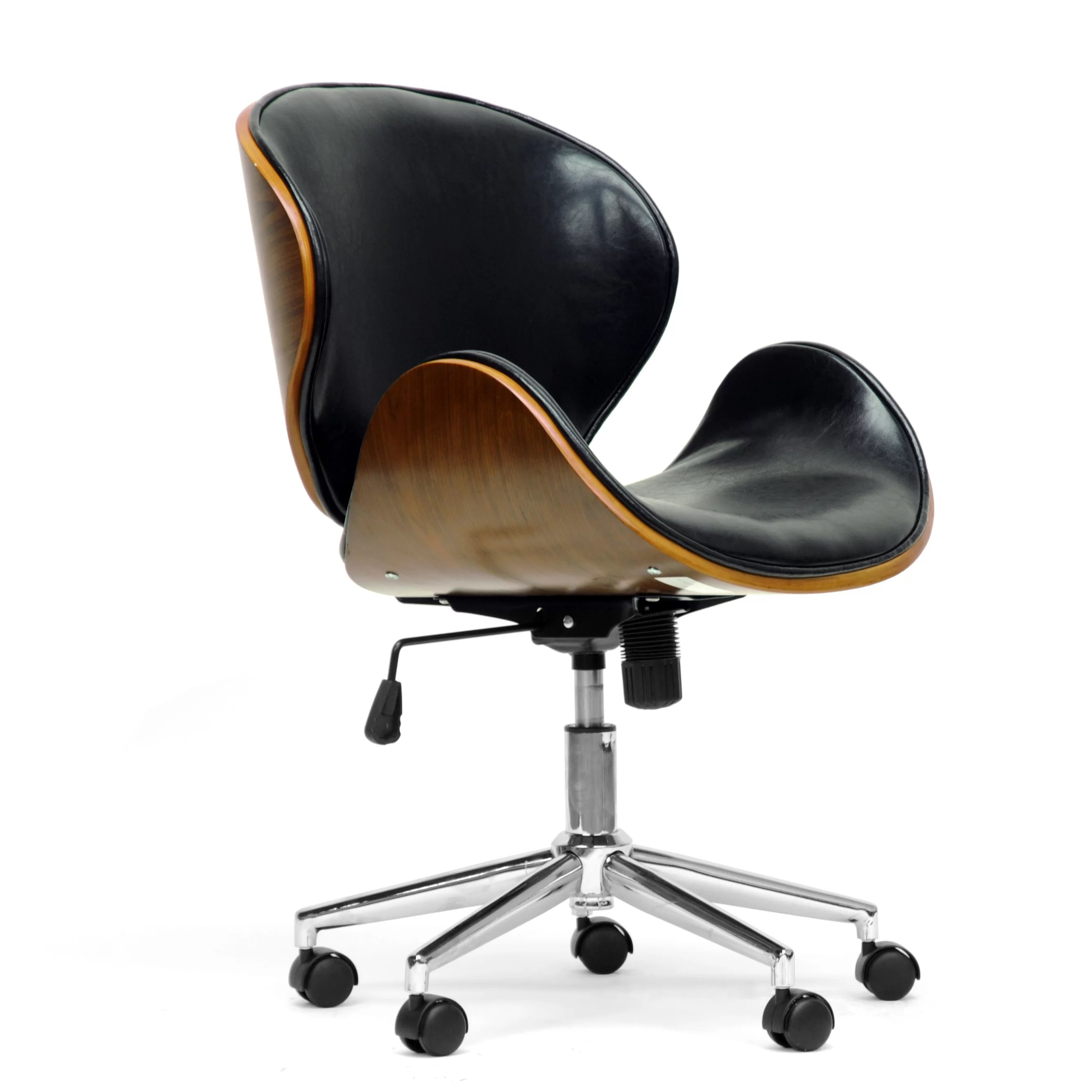 Baxton Chair Wholesale Interiors Baxton Studio Task Chair With Arms