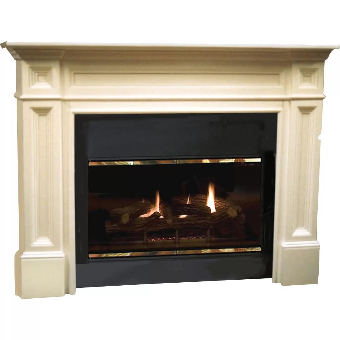 Pearl Mantels The Classique Fireplace Mantel Surround  Reviews  Wayfair