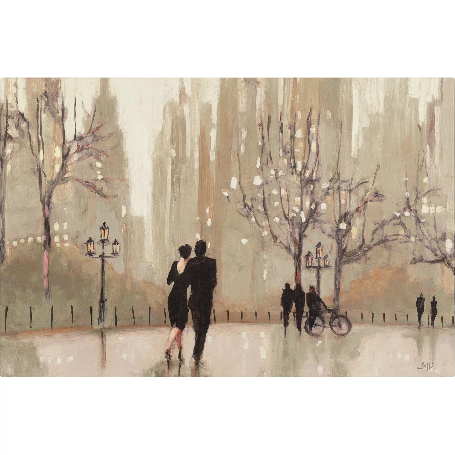 christmas chair covers for sale ebay uk trademark art 'an evening out neutral' by julia purinton painting print on canvas & reviews ...