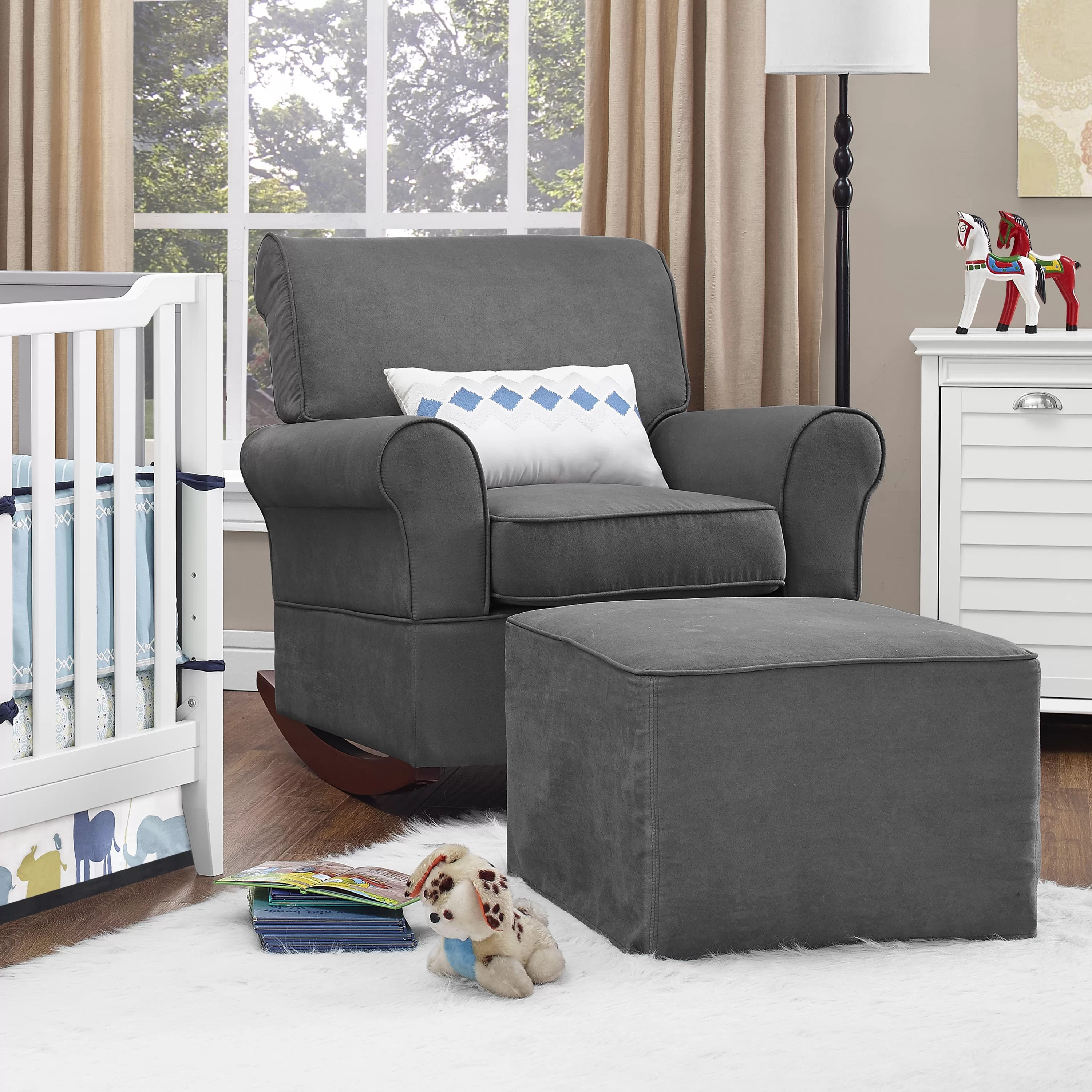 Baby Rocker Chair Dorel Living Baby Relax Mackenzie Rocker And Ottoman