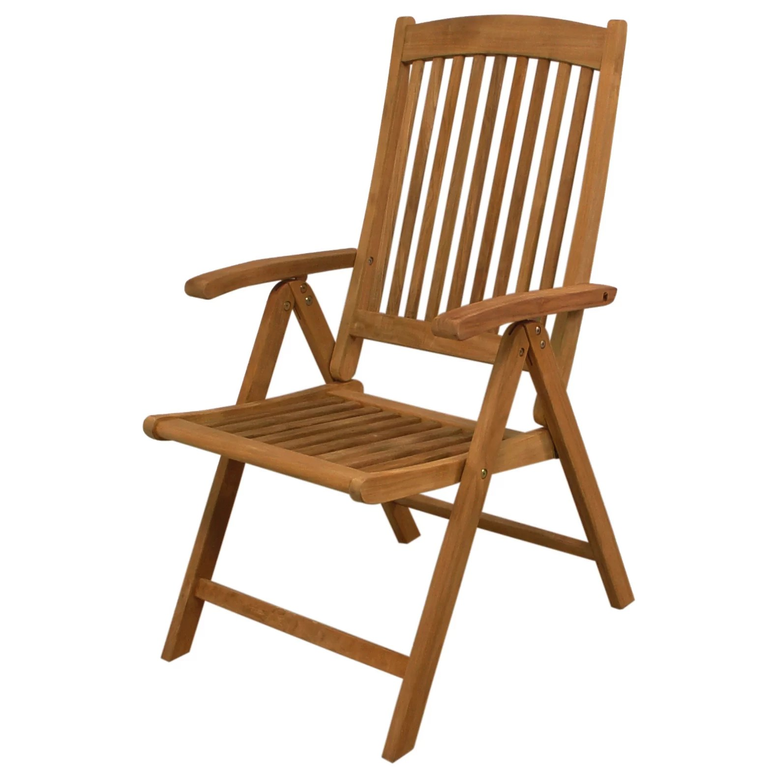Folding Chair With Arms Avalon Folding Dining Arm Chair Wayfair