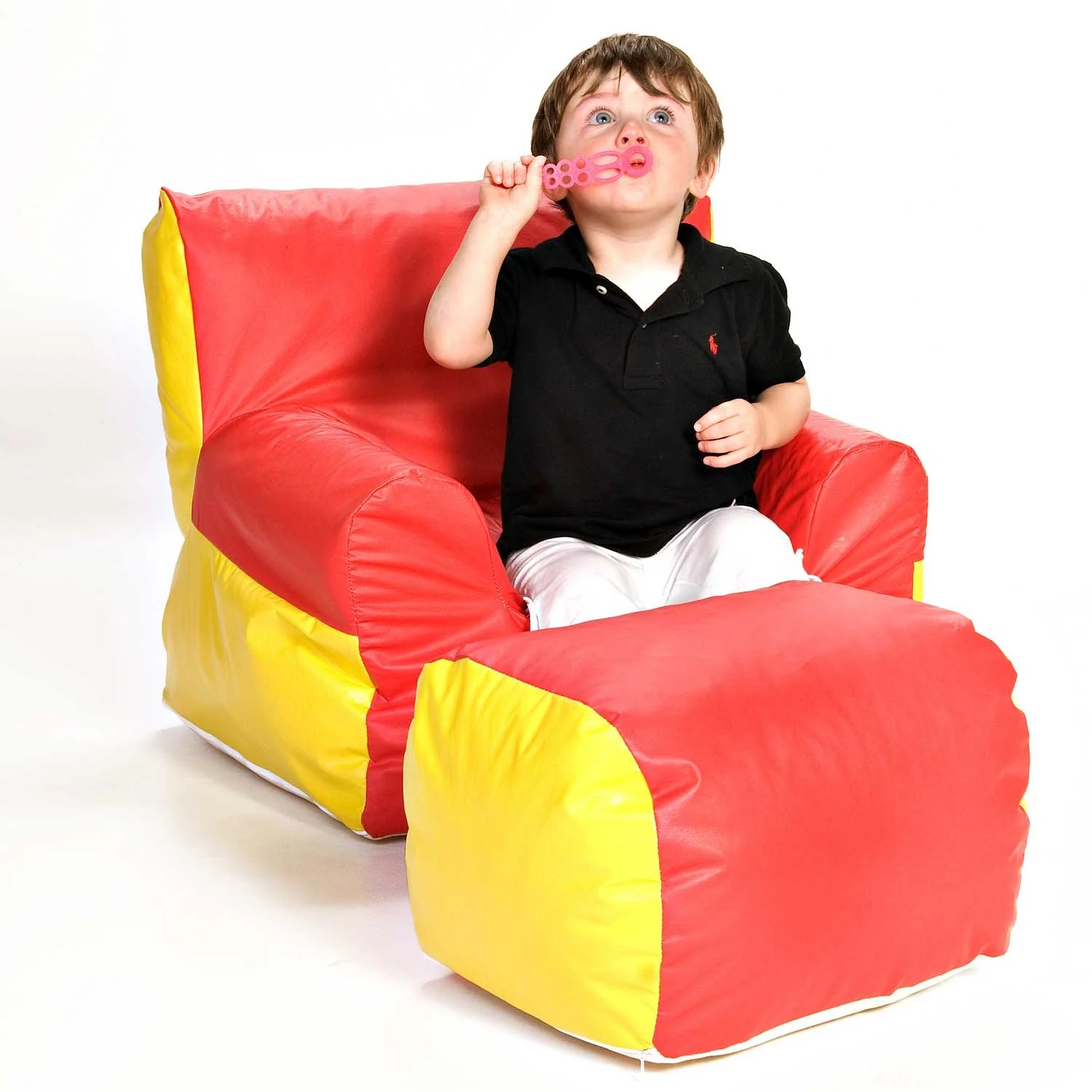 soft toddler chairs dollar tree bunny chair covers foamnasium e boy kids and ottoman reviews