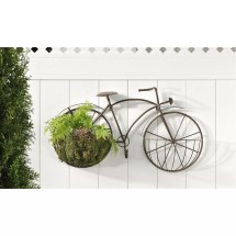 Bicycle Novelty Wall Planter &