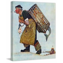 Norman Rockwell Prints On Canvas