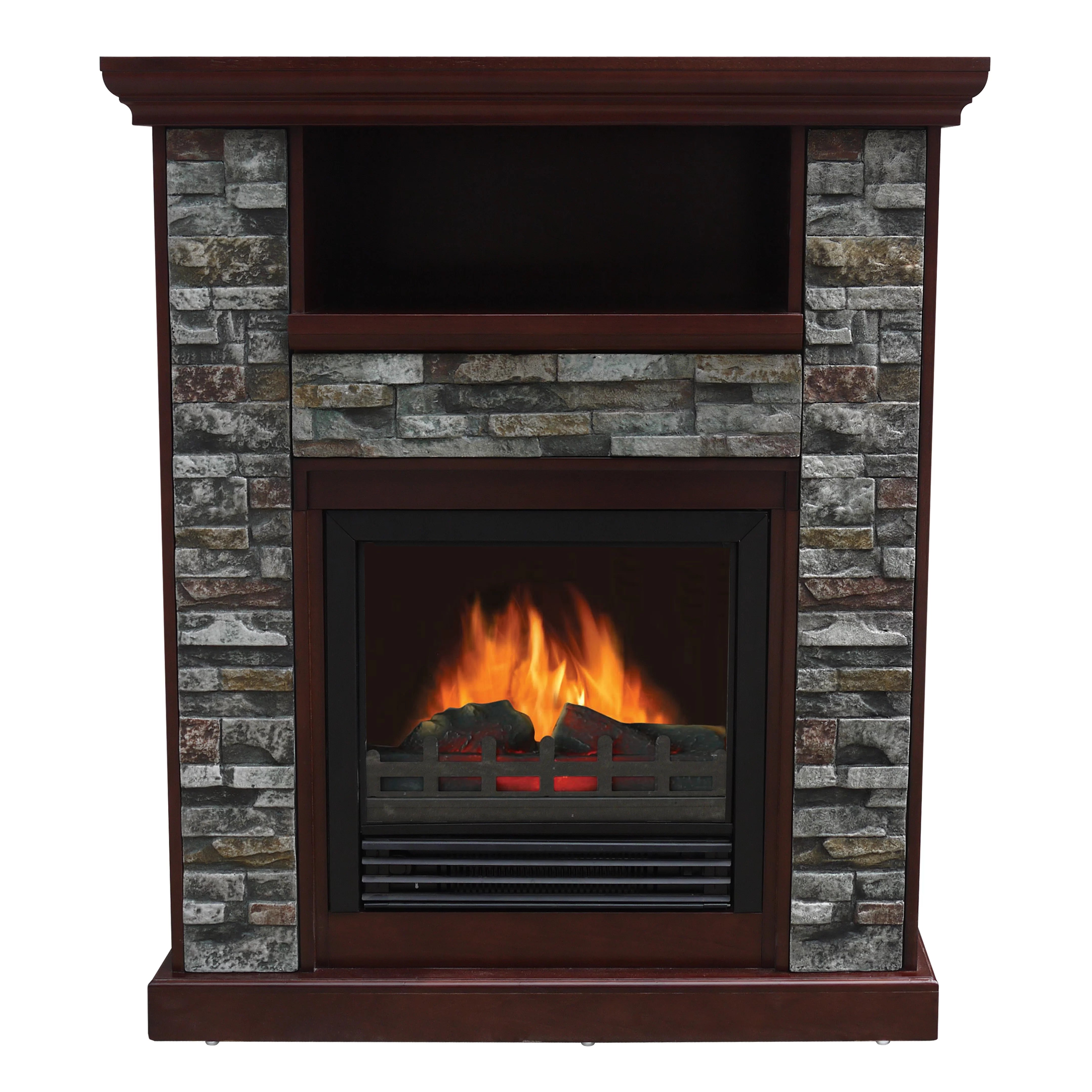 Stonegate Asheville Electric Fireplace  Reviews  Wayfair
