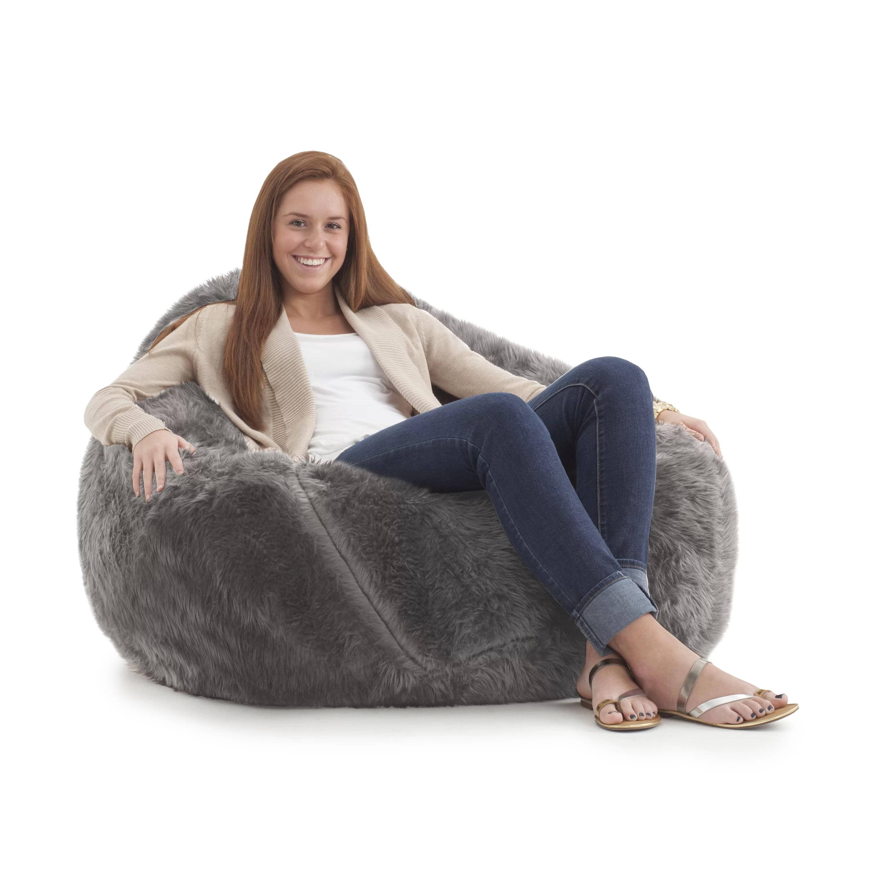 big joe bean bag chair push back recliner wayfair