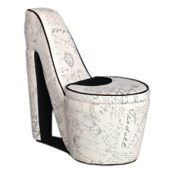 High Heel Chair Louis Xv Antique Ore Furniture Old World Storage Side