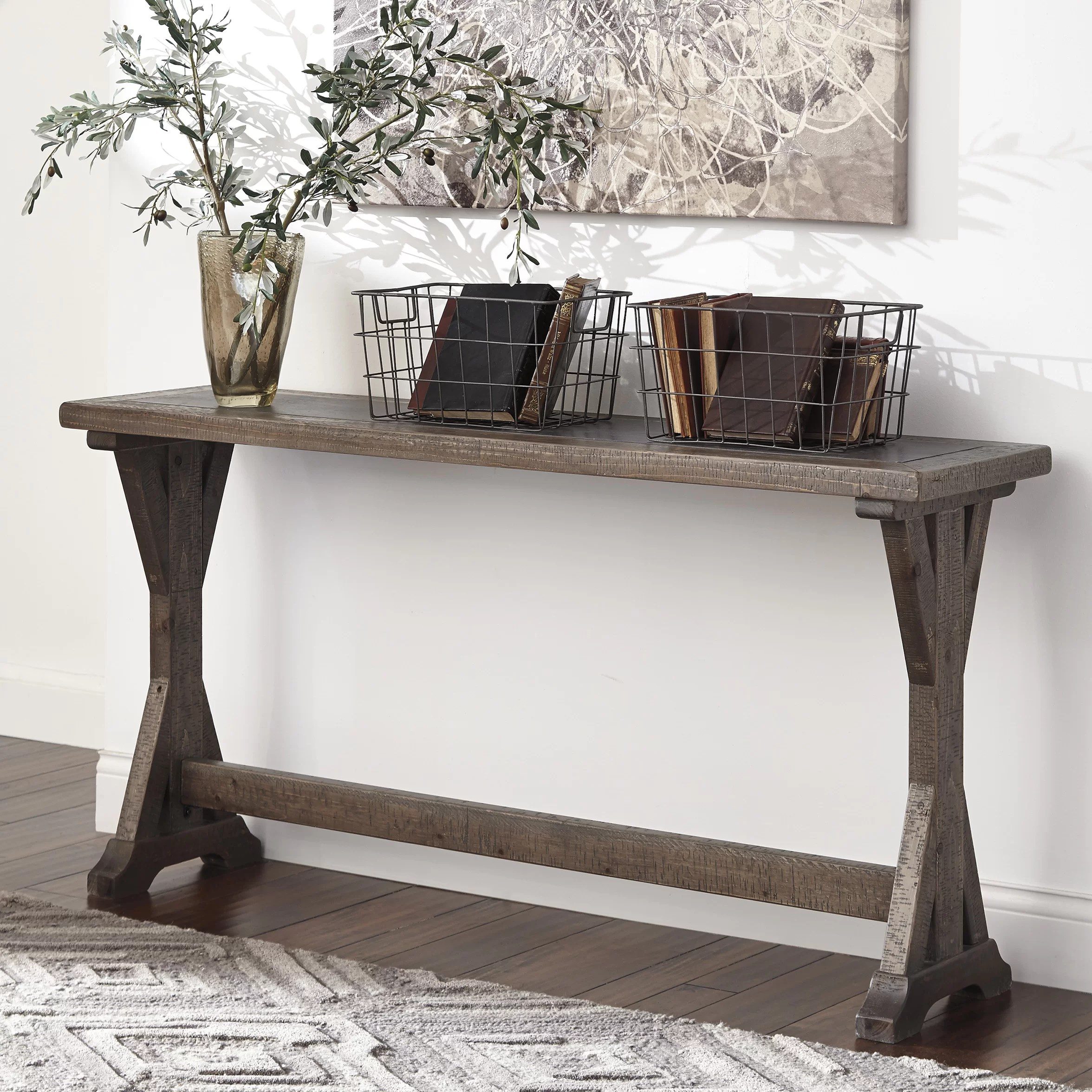 Signature Design by Ashley Valkner Console Table  Reviews  Wayfair